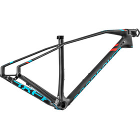 Mondraker Podium Carbon RR 29 Cadre de vélo, carbon/light blue/flame red